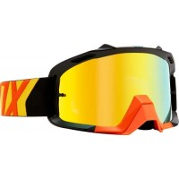 2018 Fox Airspace Preme Youth Kids Motocross Goggles Black Yellow