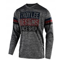 2020 Troy Lee Designs TLD GP ELSINORE Motocross Jersey Heather Grey Navy SMALL ONLY