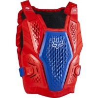 2020 Fox Raceframe Impact Motocross Body Armour RED WHITE BLUE