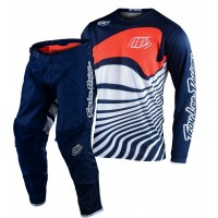 2020 Troy Lee Designs DRIFT Youth Kids TLD GP Motocross Gear Navy Orange