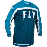 2020 Fly Racing F16 Youth Kids Motocross Jersey Navy Blue White