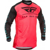 2020 Fly Racing Lite Hydrogen LE MONSTER CUP Motocross Jersey CORAL BLUE