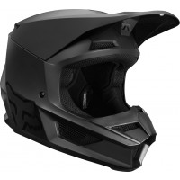 2020 Fox V1 Kids Youth Motocross Helmet MATTE BLACK