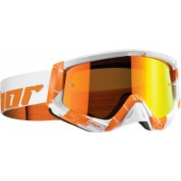 Thor MX Sniper CHASE Motocross Goggles Orange White