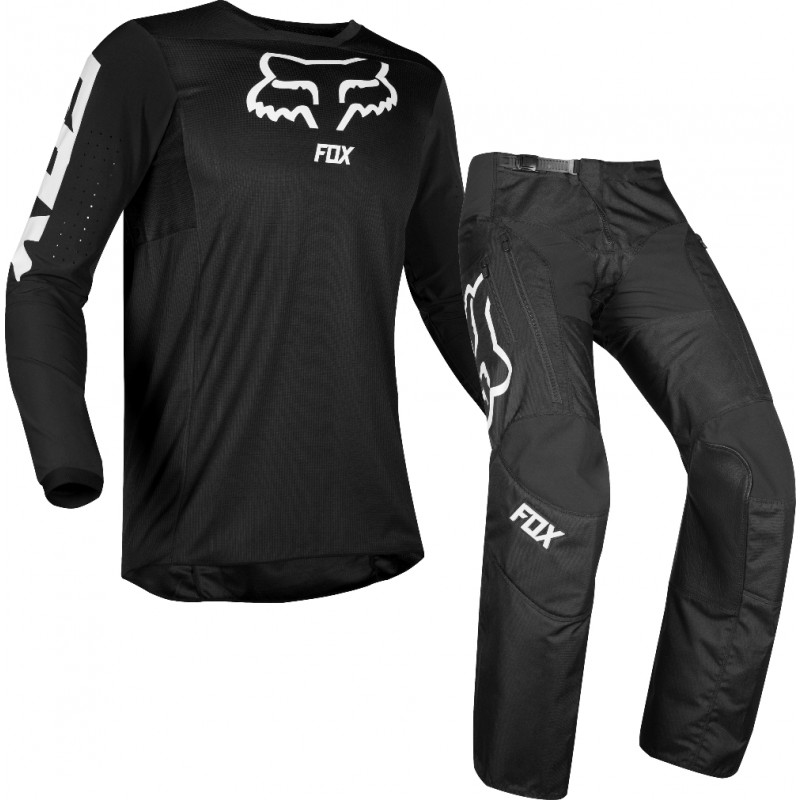 2020 Fox Legion LT Enduro Offroad Gear with LT EX Over Boot Pants Black