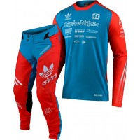 Troy Lee Designs ADIDAS LE TLD ULTRA Motocross Gear Ocean Blue