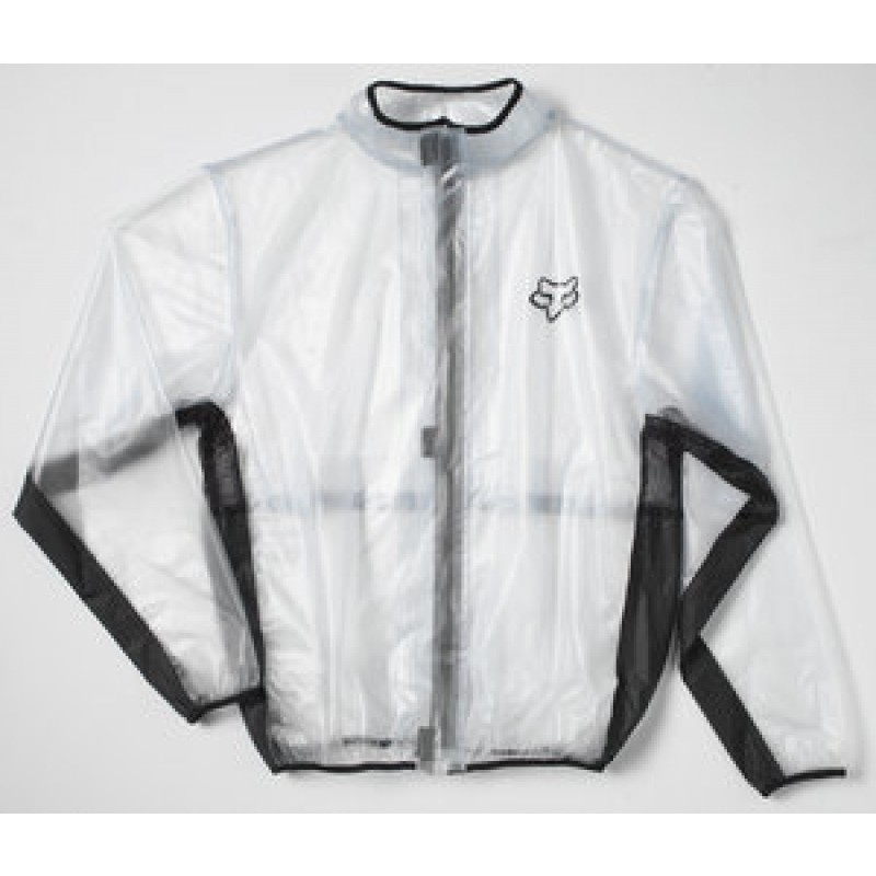 Fox Fluid Rain Jacket CLEAR 2XL ONLY