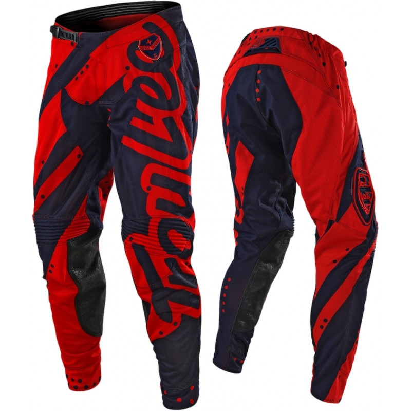 Troy Lee Designs Shadow Red Navy TLD SE Air Motocross Pants