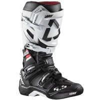 Leatt GPX 5.5 Flexlock Motocross Boot White Black