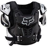 Fox Raptor Adult Motocross Body Armour Black White