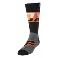 Fox Youth Kids AFTERBURN Motocross Socks BLACK