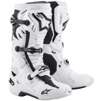 Alpinestars Tech 10 SUPERVENTED Motocross Boots White