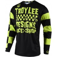 Troy Lee Designs RACESHOP 5000 Kid Youth TLD GP MX Motocross Jersey Lime XL ONLY