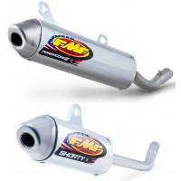 FMF Powercore 2 and PC2 Shorty Motocross 2 Stroke Exhaust Silencer