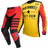 Fasthouse SPEEDSTYLE Motocross Gear RED PHANTOM YELLOW