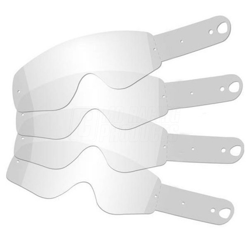 Laminated Tear Offs for Fox Motocross Goggles Pack of 14