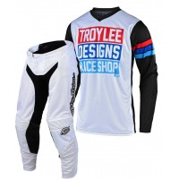 2020 Troy Lee Designs TLD GP CARLSBAD Motocross Gear White White