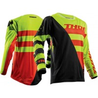 Thor Fuse Air RIVE Motocross Jersey LIME ORANGE