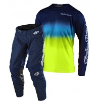 2020 Troy Lee Designs TLD GP AIR STAIND Motocross Gear Yellow Navy 28 SMALL ONLY
