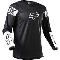 2021 Fox 180 REVN Motocross Jersey BLACK WHITE MEDIUM or XXL ONLY