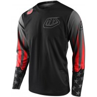 2020 Troy Lee Designs TLD GP LIBERTY Motocross Jersey Black Grey