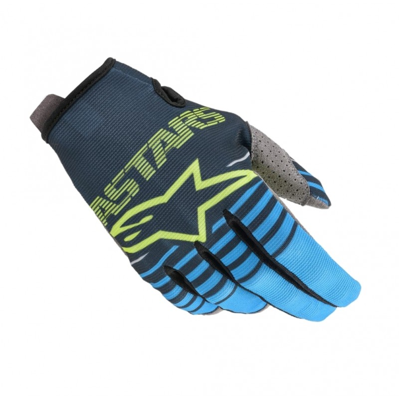 2020 Alpinestars RADAR Motocross Gloves Navy Aqua