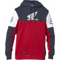 Fox Honda Pullover Fleece Hoody Navy Red XL ONLY