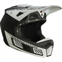 2021 Fox V3 RS RIGZ Motocross Helmet Black