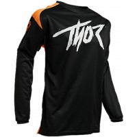 Thor Sector Link Motocross Jersey BLACK ORANGE XXL ONLY