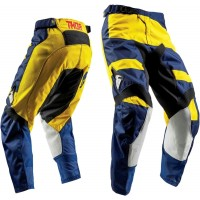 2018 Thor MX Pulse LEVEL Motocross Pants Navy Yellow
