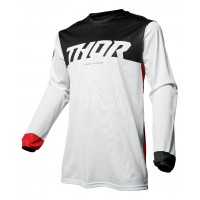 2020 Thor MX Pulse Air Factor Motocross Jersey Red White
