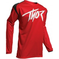2020 Thor Sector Link Youth Kids Motocross Jersey BLACK RED