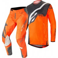 Alpinestars Techstar Factory Anthracite Orange Motocross Gear 32 ONLY