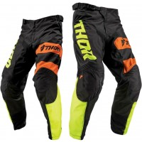 2019 Thor MX Pulse Savage Big Kat Motocross Pants Black Lime