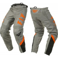 2020 Fly Racing F16 Motocross Pants Grey Black Orange 28 or 32 ONLY