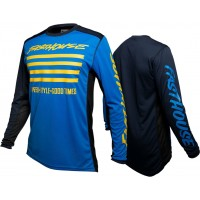 Fasthouse SLASH Motocross Jersey BLUE YELLOW