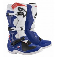 2020 Alpinestars Tech 3 Motocross Boots Blue White Red