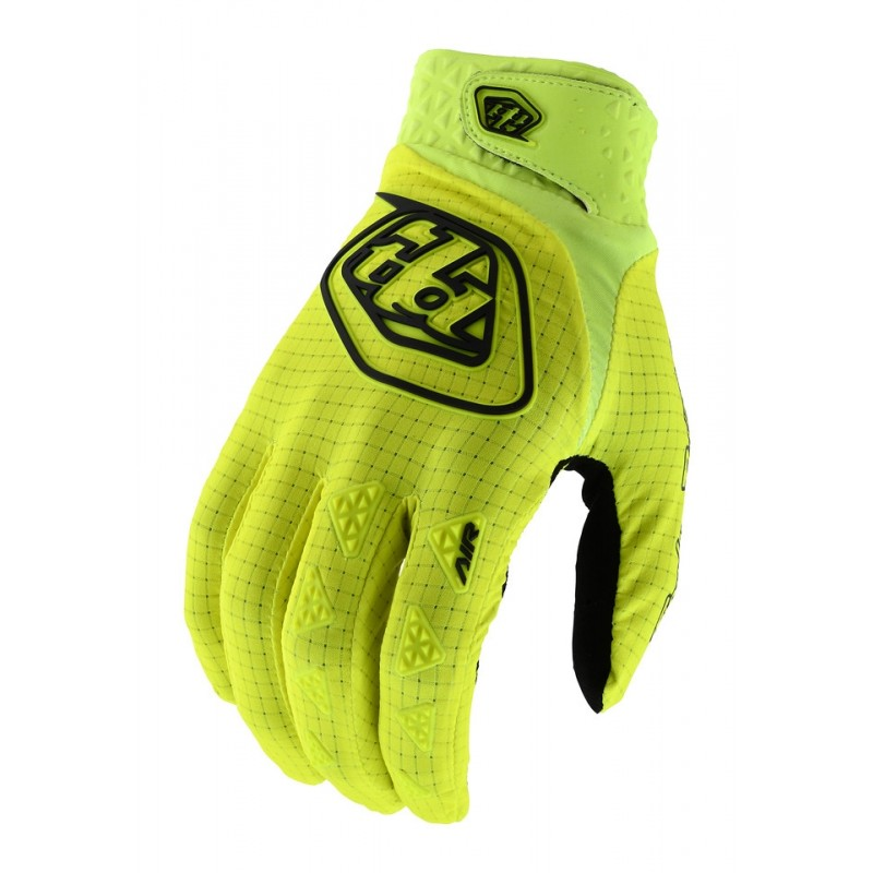 Troy Lee Designs TLD GP Air Motocross Gloves Solid Yellow
