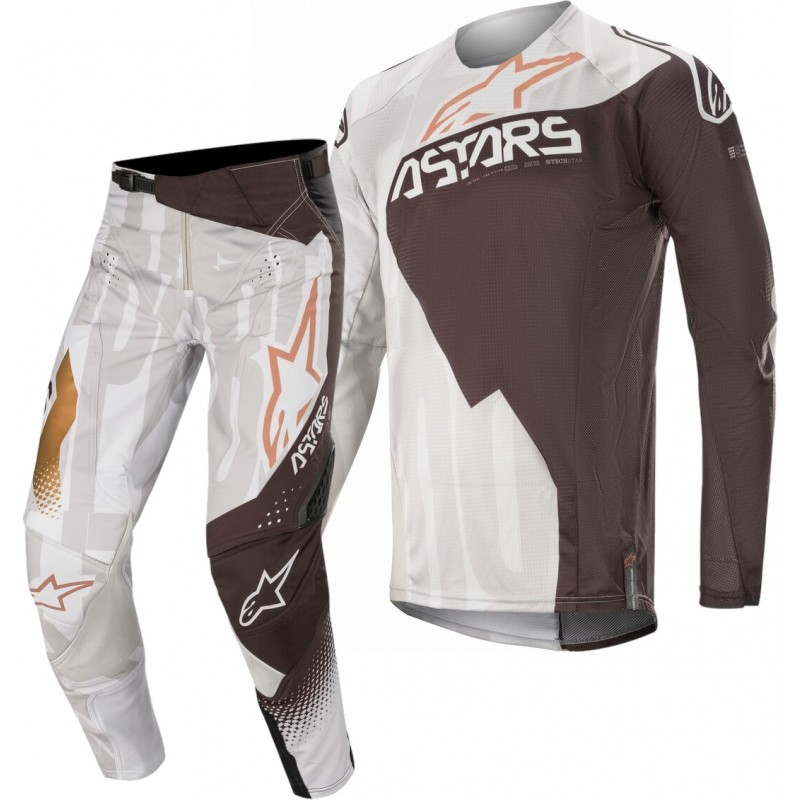2020 Alpinestars Techstar Factory Metal Grey Black Motocross Gear