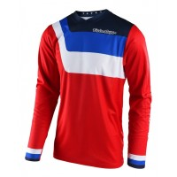 Troy Lee Designs TLD GP AIR Prisma Motocross Jersey Red