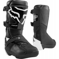 2020 Fox Comp Youth Kids Motocross Boots Black