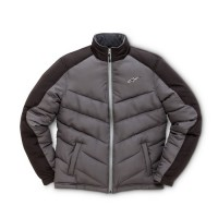 Alpinestars Challenge Charcoal Quilted Puffer Jacket Charcoal Black