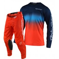 2020 Troy Lee Designs TLD GP AIR STAIND Motocross Gear Navy Orange