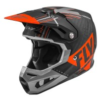 2020 Fly Racing Formula Carbon MIPS Motocross Helmet Matte Orange Grey Black
