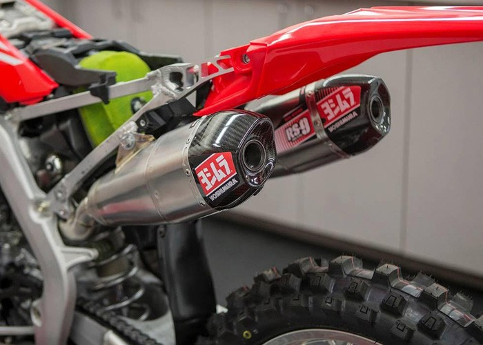 Yoshimura Rs9 Twin Motocross Exhaust System Honda Crf250 2018