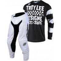 Troy Lee Designs RACESHOP 5000 TLD GP MX Motocross Gear Black White