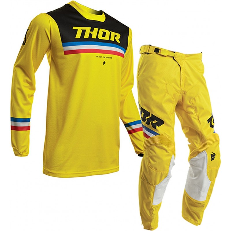 2020 Thor MX Pulse PINNER Motocross Gear Yellow Black 28 or 36 ONLY