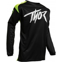 2020 Thor Sector Link Youth Kids Motocross Jersey BLACK ACID