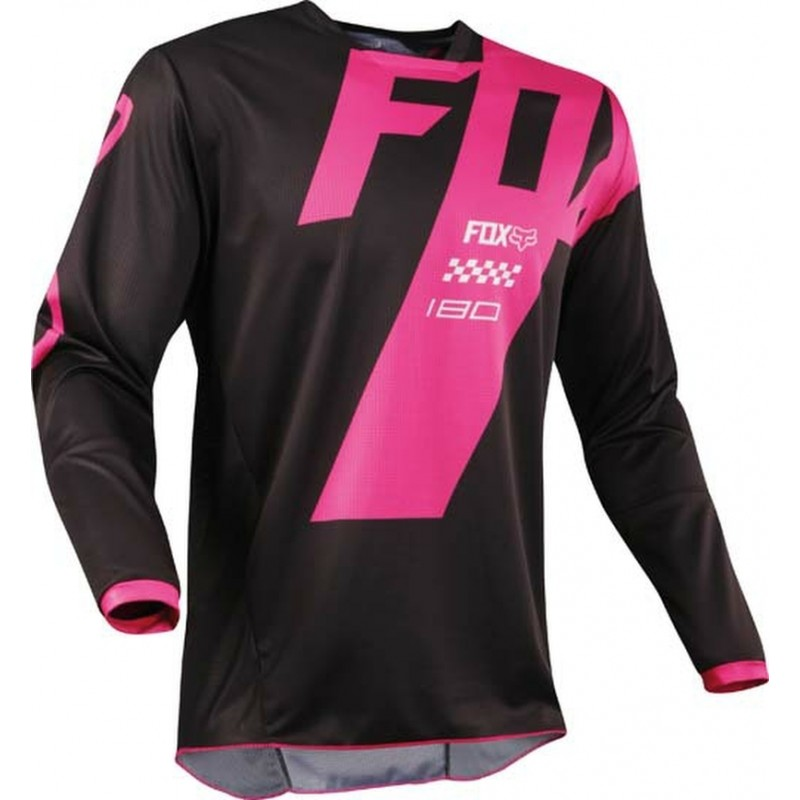 Fox 180 MASTAR Motocross Jersey BLACK PINK XL ONLY
