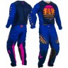 2020 Fly Racing Kinetic K220 Motocross Gear Midnight Blue Orange